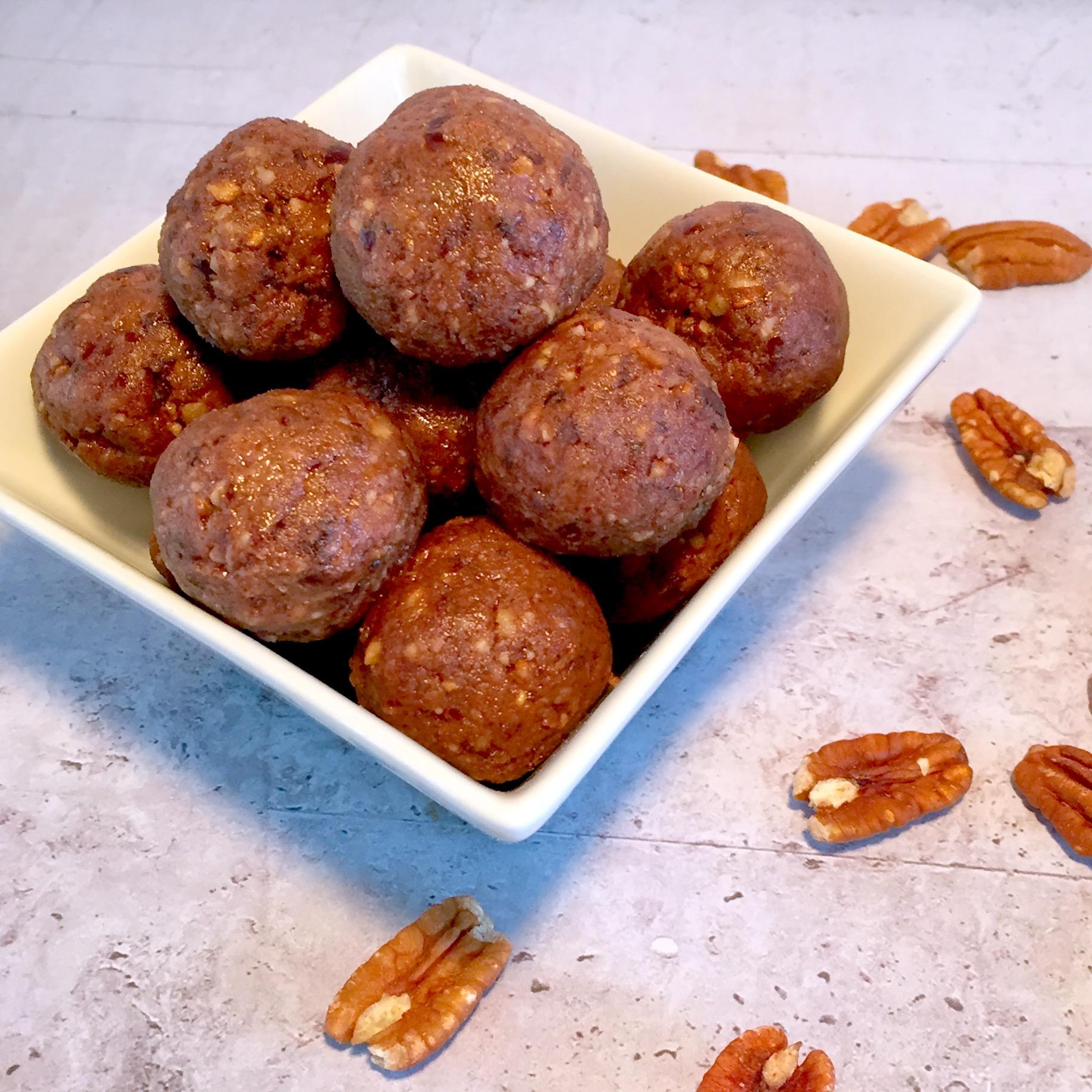 Pecan Pie Protein Balls