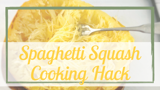 Spaghetti Squash Cooking Hack